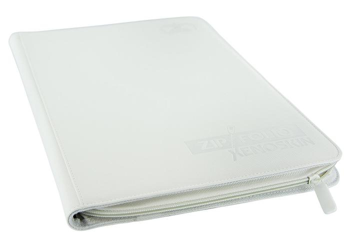 Portfolio: Ultimate Guard 9-Pocket Zipfolio Xenoskin White