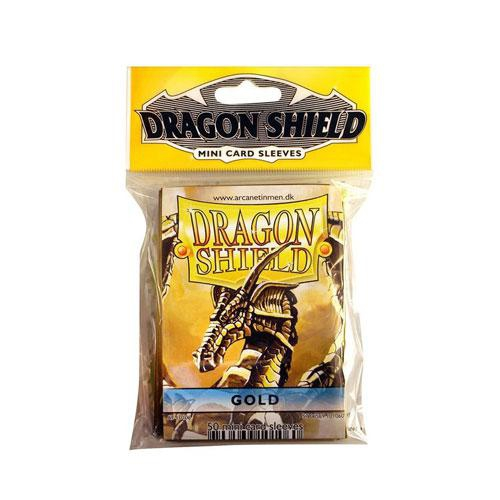 Sleeve Deck: Dragon Shield Mini - Gold