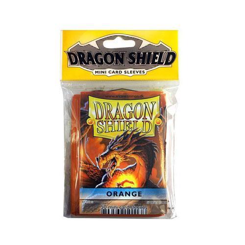 Sleeve Deck: Dragon Shield Mini - Orange