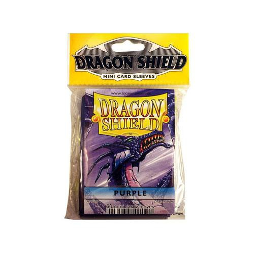 Sleeve Deck: Dragon Shield Mini - Purple