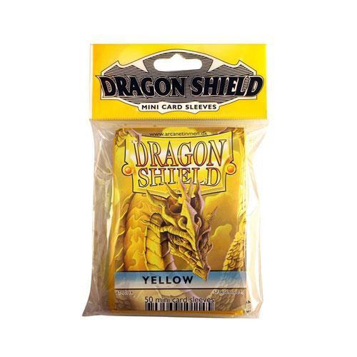 Sleeve Deck: Dragon Shield Mini - Yellow