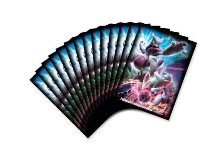 Sleeve Deck: Pokémon Mega Mewtwo X And Mega Mewtwo Y Sleeves Pack