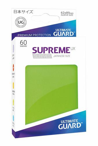 Sleeve Deck: Ultimate Guard Supreme Ux Sleeves Japanese Size Light Green