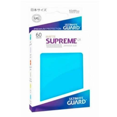 Sleeve Deck: Ultimate Guard Supreme Ux Sleeves Japanese Size Matte Light Blue