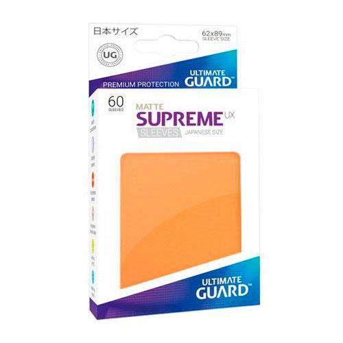 Sleeve Deck: Ultimate Guard Supreme Ux Sleeves Japanese Size Orange