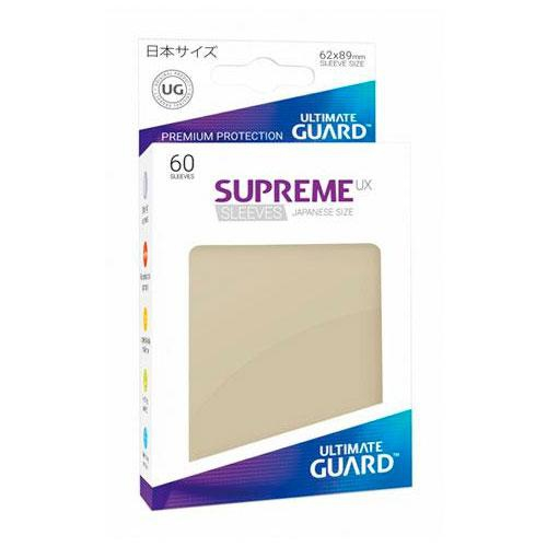 Sleeve Deck: Ultimate Guard Supreme Ux Sleeves Japanese Size Sand