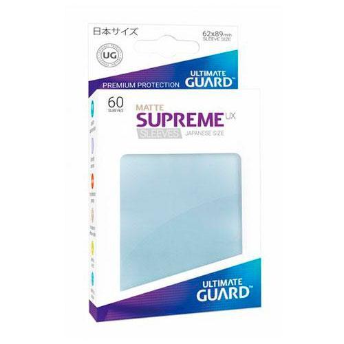 Sleeve Deck: Ultimate Guard Supreme Ux Sleeves Japanese Size Transparent