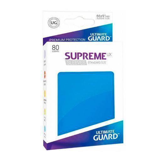 Sleeve Deck: Ultimate Guard Supreme Ux Sleeves Standard Size Blue