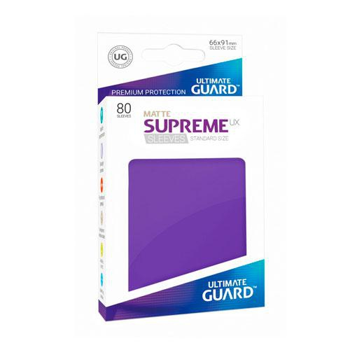 Sleeve Deck: Ultimate Guard Supreme Ux Sleeves Standard Size Purple