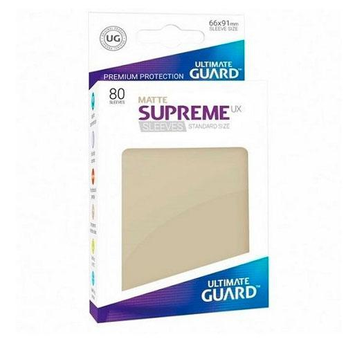 Sleeve Deck: Ultimate Guard Supreme Ux Sleeves Standard Size Sand