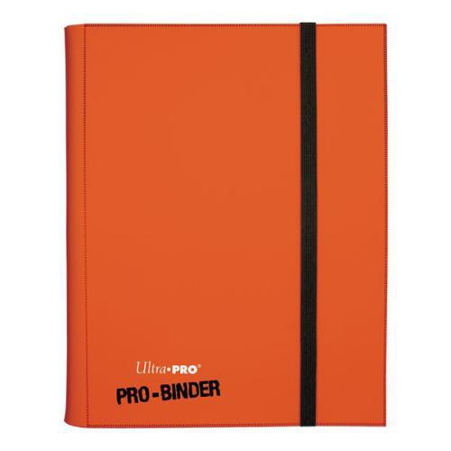 Portfolio: 9-Pocket Orange Pro-Binder