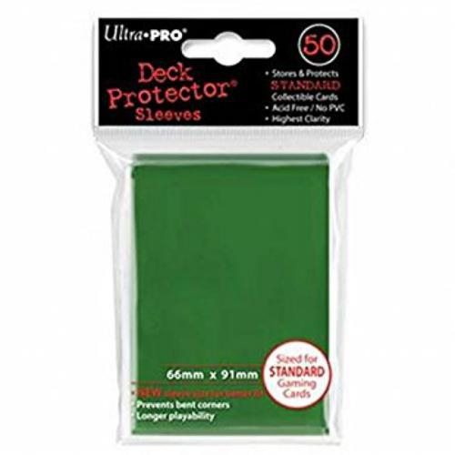 Sleeve Deck: Green Small Deck Protectors