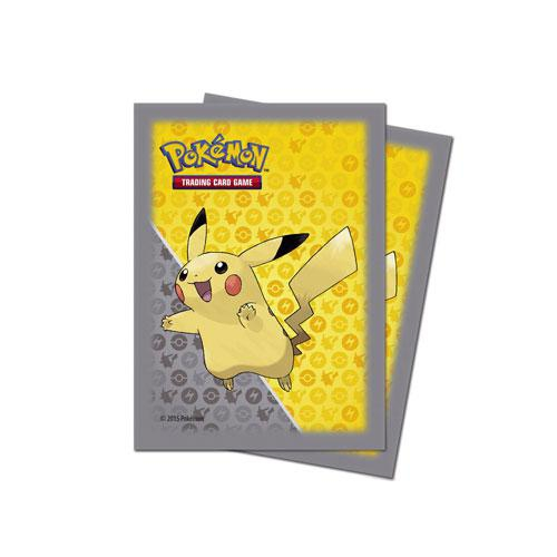 Sleeve Deck: Pokemon Pikachu Grey Deck Protector