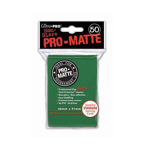 Sleeve Deck: Pro-Matte Standard Sleeves, Green