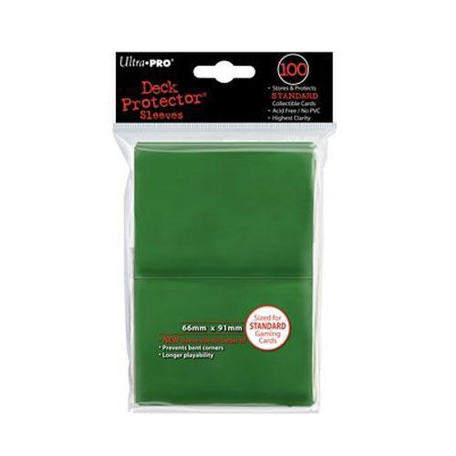 Sleeve Deck: Sleeves, Green Standard