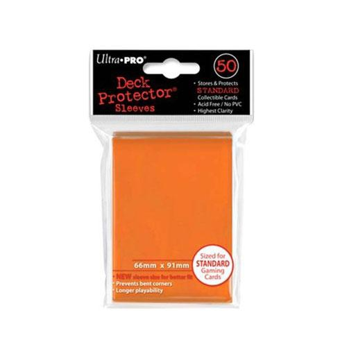 Sleeve Deck: Sleeves, Orange Standard