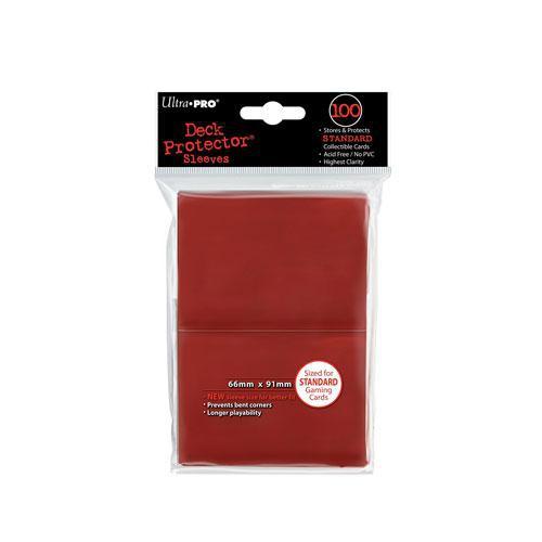 Sleeve Deck: Sleeves, Red Standard