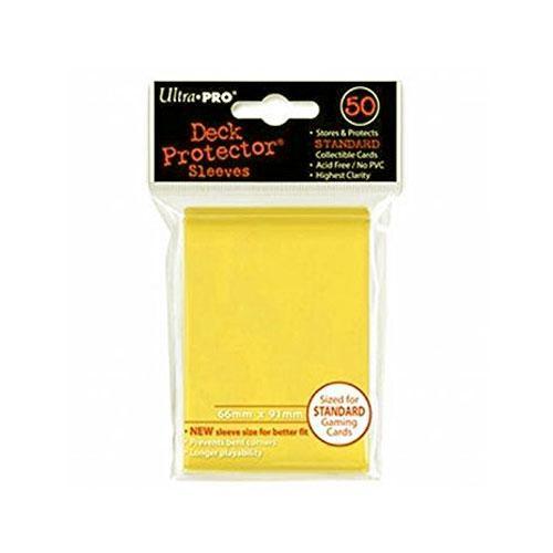 Sleeve Deck: Sleeves, Yellow Standard