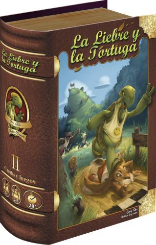 La Liebre Y La Tortuga - Juego + Libro Cuento