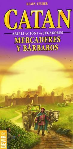 Catan: Mercaderes Y Bárbaros (Amp 5-6 Jugadores)