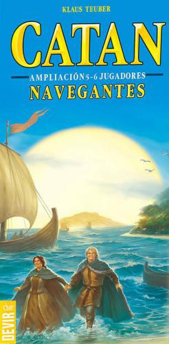 Catan: Navegantes (Amp 5-6 Jugadores)