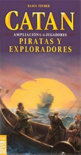 Catan: Piratas Y Exploradores (Amp 5-6 Jugadores)