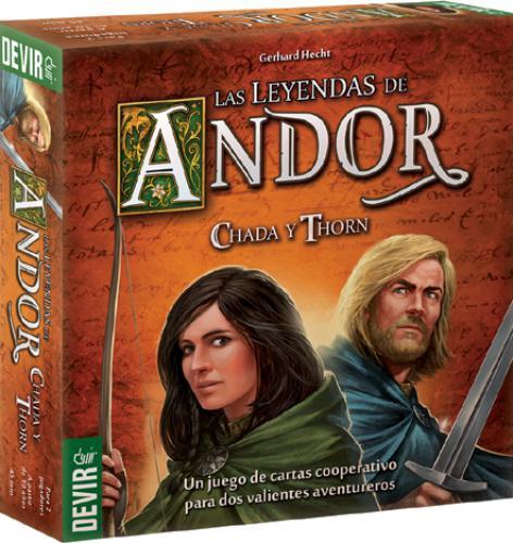Las Leyendas De Andor 2: Chada Y Thorn