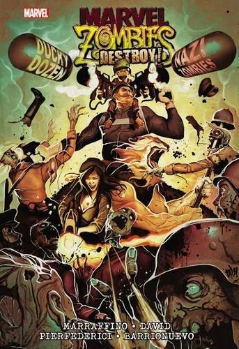 Comic Marvel Zombies Destroy