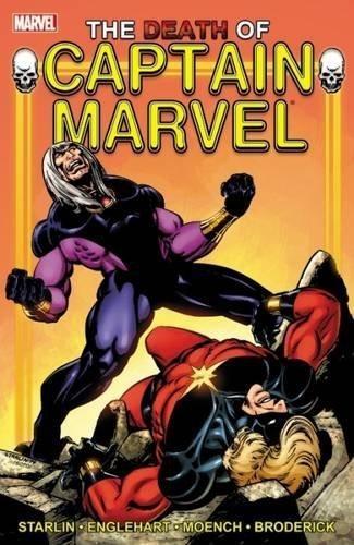 Comic Captain Marvel The Dea