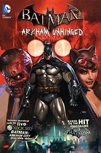 Comic Batman Arkham Unhinged