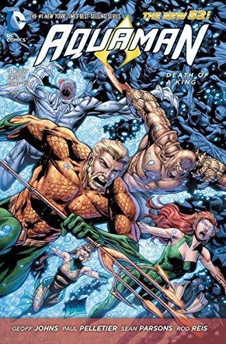 Comic Aquaman Vol 4 Death Of A King