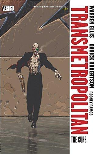 Comic Transmetropolitan The Cure Vol 9