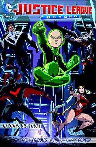 Comic Justice League Beyond Gods