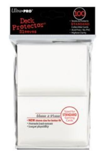 Sleeve Deck: Deck Protector, White (New Standard)