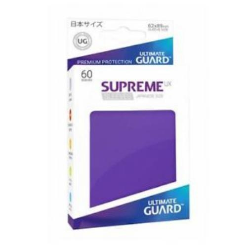 Sleeve Deck: Ultimate Guard Supreme Ux Sleeves Japanese Size Purple