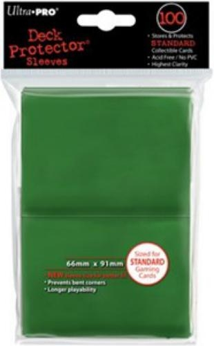 Sleeve Deck: Deck Protector, Green Standard (New)