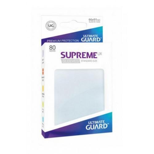 Sleeve Deck: Ultimate Guard Supreme Ux Sleeves Standard Size Frosted