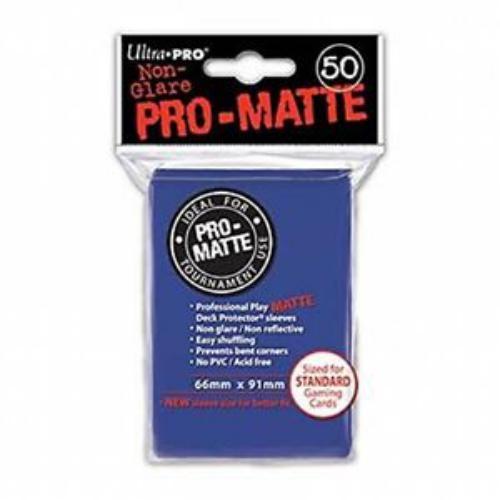 Sleeve Deck: Pro-Matte Standard Sleeves, Blue