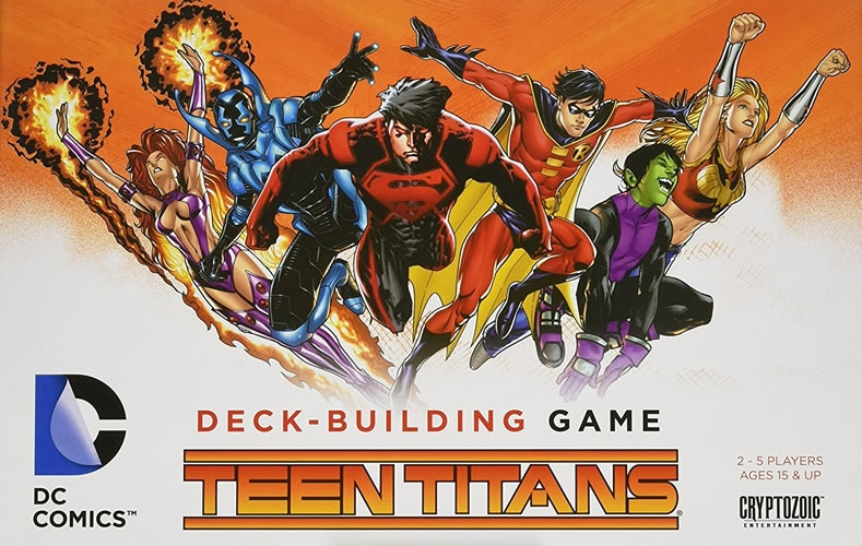 Dc Deck-Building Game: Teen Titans
