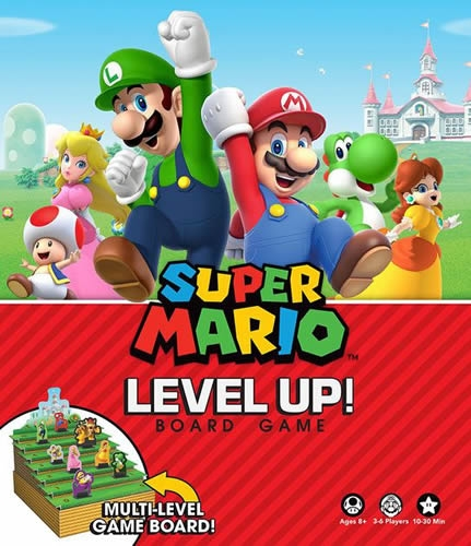 Super Mario Bros Level Up! Board Game