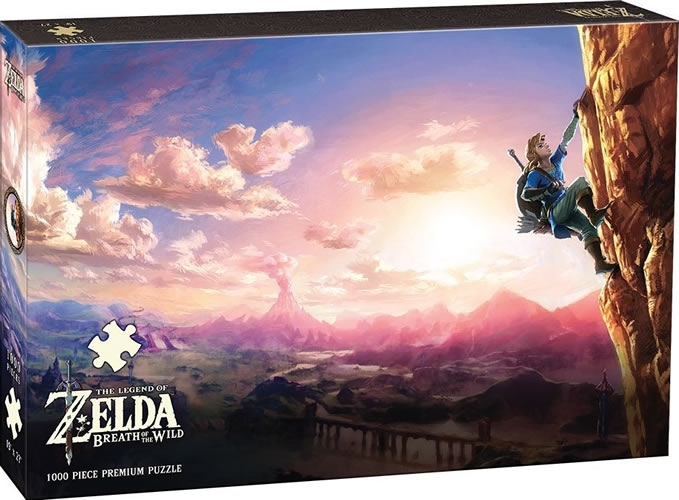 The Legend Of Zelda 1000 Piece Premium Puzzle