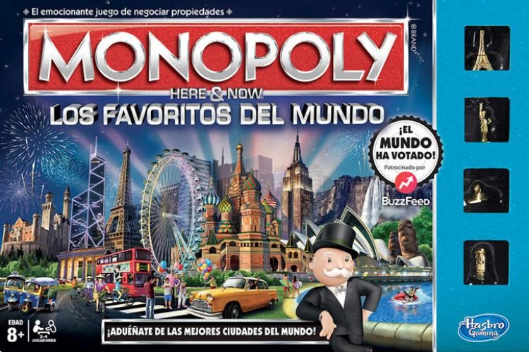 Monopoly Here & Now - World Edition
