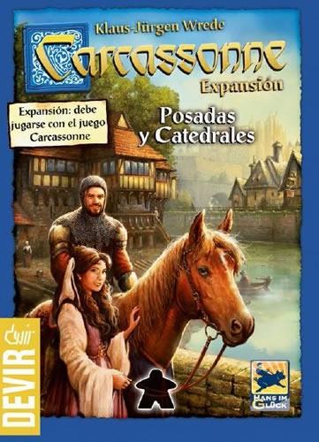 Carcassonne: Posadas Y Catedrales (Exp)