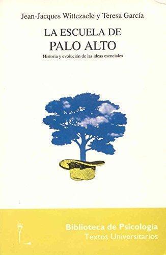 Escuela De Palo Alto. Historia Y Evolucion De Las Ideas Esenciales, La
