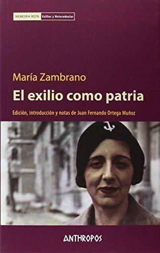 Exilio Como Patria, El