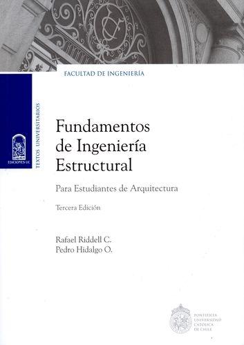 Fundamentos De Ingenieria Estructural Para Estudiantes De Arquitectura