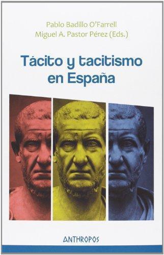 Tacito Y Tacitismo En España