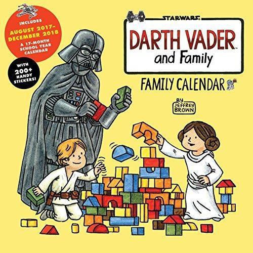 Darth Vader And Family 2018 Wall Calenda