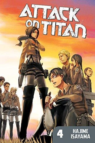 Comic Attack On Titan 4