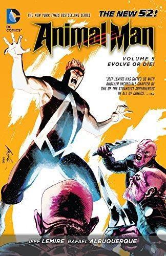 Comic Animal Man Vol 05 Evolve Or Die